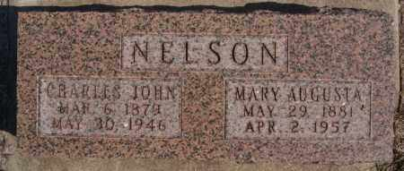 NELSON, MARY AUGUSTA - Turner County, South Dakota   MARY AUGUSTA NELSON - South Dakota Gravestone Photos