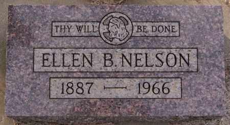 NELSON, ELLEN B - Turner County, South Dakota | ELLEN B NELSON - South Dakota Gravestone Photos