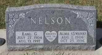 NELSON, EARL G - Turner County, South Dakota | EARL G NELSON - South Dakota Gravestone Photos