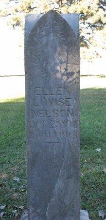 NELSON, ELLEN LOVISE - Turner County, South Dakota | ELLEN LOVISE NELSON - South Dakota Gravestone Photos