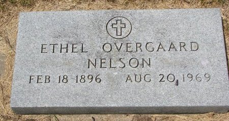 OVERGAARD NELSON, ETHEL - Turner County, South Dakota | ETHEL OVERGAARD NELSON - South Dakota Gravestone Photos