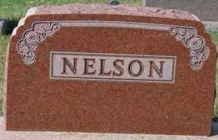 NELSON, FAMILY MARKER - Turner County, South Dakota | FAMILY MARKER NELSON - South Dakota Gravestone Photos