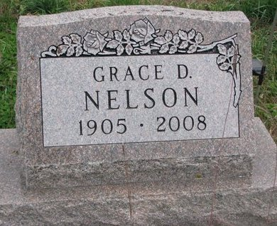 NELSON, GRACE DARLING - Turner County, South Dakota | GRACE DARLING NELSON - South Dakota Gravestone Photos