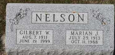 NELSON, GILBERT W - Turner County, South Dakota | GILBERT W NELSON - South Dakota Gravestone Photos