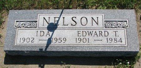 NELSON, EDWARD T. - Turner County, South Dakota | EDWARD T. NELSON - South Dakota Gravestone Photos