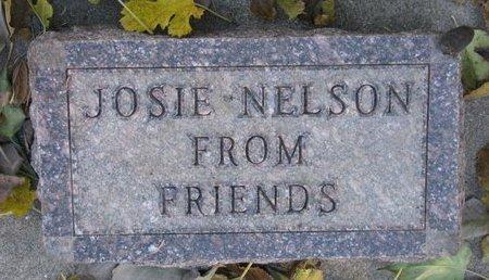 NELSON, JOSIE - Turner County, South Dakota | JOSIE NELSON - South Dakota Gravestone Photos
