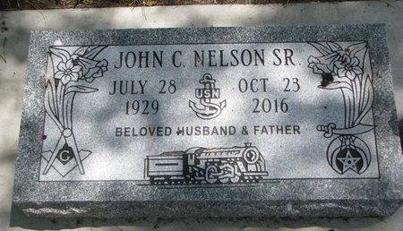 NELSON, JOHN C. SR. - Turner County, South Dakota | JOHN C. SR. NELSON - South Dakota Gravestone Photos