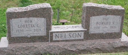 NELSON, HOWARD R. - Turner County, South Dakota | HOWARD R. NELSON - South Dakota Gravestone Photos