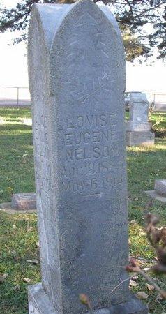 NELSON, LOVISE EUGENE - Turner County, South Dakota   LOVISE EUGENE NELSON - South Dakota Gravestone Photos