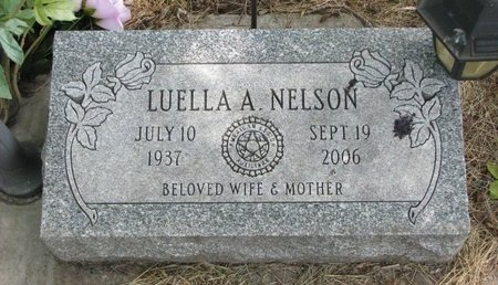 NELSON, LUELLA ANN - Turner County, South Dakota | LUELLA ANN NELSON - South Dakota Gravestone Photos