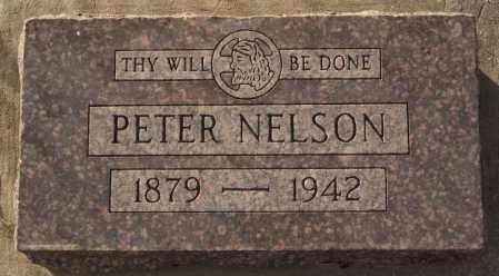 NELSON, PETER - Turner County, South Dakota | PETER NELSON - South Dakota Gravestone Photos