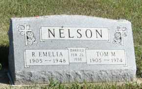 NELSON, TOM M. - Turner County, South Dakota | TOM M. NELSON - South Dakota Gravestone Photos
