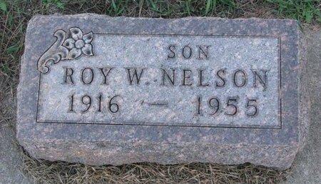 NELSON, ROY W. - Turner County, South Dakota | ROY W. NELSON - South Dakota Gravestone Photos