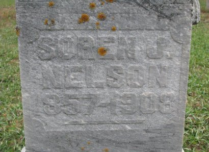 NELSON, SOREN J. (CLOSE UP) - Turner County, South Dakota | SOREN J. (CLOSE UP) NELSON - South Dakota Gravestone Photos