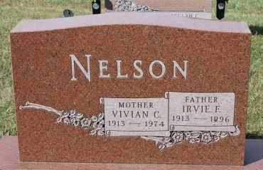 NELSON, IRVIE F - Turner County, South Dakota | IRVIE F NELSON - South Dakota Gravestone Photos
