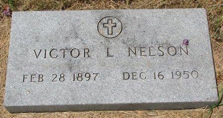 NELSON, VICTOR L. - Turner County, South Dakota   VICTOR L. NELSON - South Dakota Gravestone Photos