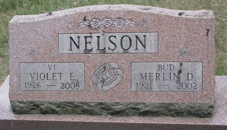 "NELSON, MERLIN DENNIS ""BUD"" - Turner County, South Dakota | MERLIN DENNIS ""BUD"" NELSON - South Dakota Gravestone Photos"