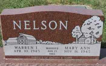 NELSON, WARREN I - Turner County, South Dakota | WARREN I NELSON - South Dakota Gravestone Photos