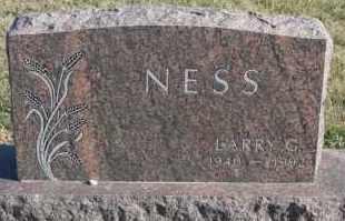 NESS, LARRY G - Turner County, South Dakota | LARRY G NESS - South Dakota Gravestone Photos