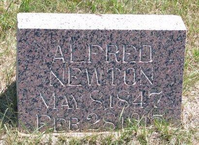 NEWTON, ALFRED - Turner County, South Dakota | ALFRED NEWTON - South Dakota Gravestone Photos