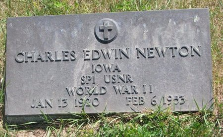 NEWTON, CHARLES EDWIN - Turner County, South Dakota | CHARLES EDWIN NEWTON - South Dakota Gravestone Photos