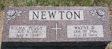 "NEWTON, WILMA ""PEGGY"" - Turner County, South Dakota 