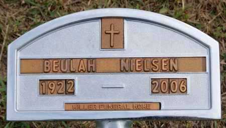 NIELSEN, BEULAH - Turner County, South Dakota | BEULAH NIELSEN - South Dakota Gravestone Photos