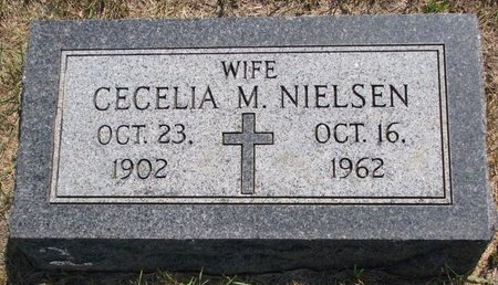 NIELSEN, CECELIA M. - Turner County, South Dakota | CECELIA M. NIELSEN - South Dakota Gravestone Photos