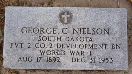 NIELSON, GEORGE C (WWI) - Turner County, South Dakota | GEORGE C (WWI) NIELSON - South Dakota Gravestone Photos