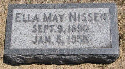 NISSEN, ELLA MAY - Turner County, South Dakota | ELLA MAY NISSEN - South Dakota Gravestone Photos