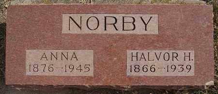 NORBY, ANNA - Turner County, South Dakota | ANNA NORBY - South Dakota Gravestone Photos
