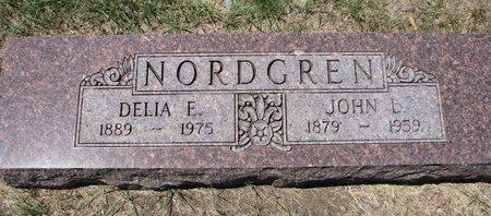 NORDGREN, DELIA E. - Turner County, South Dakota | DELIA E. NORDGREN - South Dakota Gravestone Photos