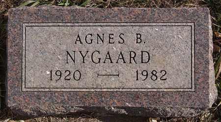 NYGAARD, AGNES B - Turner County, South Dakota | AGNES B NYGAARD - South Dakota Gravestone Photos