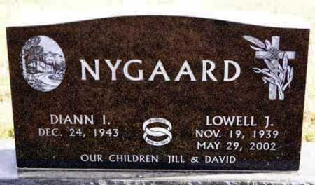NYGAARD, DIANN I - Turner County, South Dakota | DIANN I NYGAARD - South Dakota Gravestone Photos
