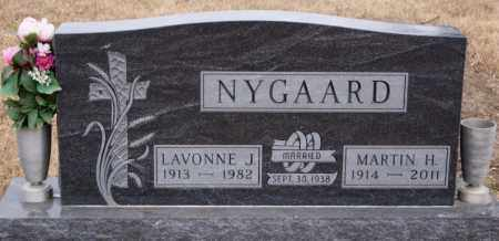 NYGAARD, LAVONNE J - Turner County, South Dakota | LAVONNE J NYGAARD - South Dakota Gravestone Photos
