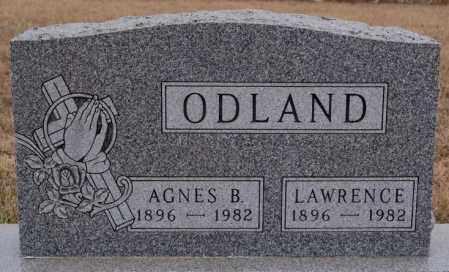 ODLAND, LAWRENCE - Turner County, South Dakota | LAWRENCE ODLAND - South Dakota Gravestone Photos
