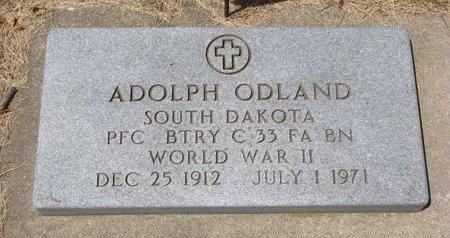 ODLAND, ADOLPH - Turner County, South Dakota | ADOLPH ODLAND - South Dakota Gravestone Photos