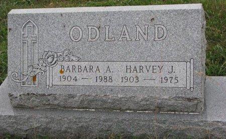 ODLAND, HARVEY J. - Turner County, South Dakota   HARVEY J. ODLAND - South Dakota Gravestone Photos