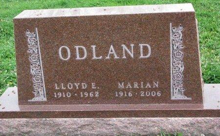 ODLAND, LLOYD E. - Turner County, South Dakota | LLOYD E. ODLAND - South Dakota Gravestone Photos
