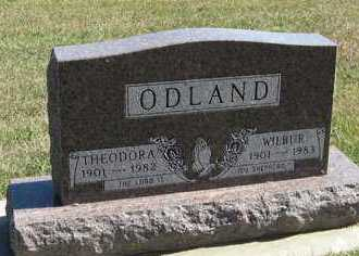 ODLAND, THEODORA - Turner County, South Dakota | THEODORA ODLAND - South Dakota Gravestone Photos