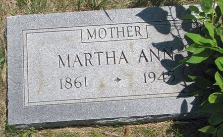WHITE ODLE, MARTHA ANN - Turner County, South Dakota | MARTHA ANN WHITE ODLE - South Dakota Gravestone Photos