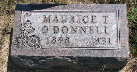 O'DONNELL, MAURICE T. - Turner County, South Dakota   MAURICE T. O'DONNELL - South Dakota Gravestone Photos