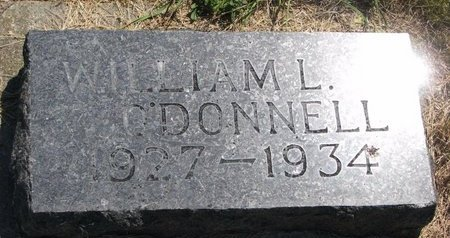 O'DONNELL, WILLIAM L. - Turner County, South Dakota | WILLIAM L. O'DONNELL - South Dakota Gravestone Photos