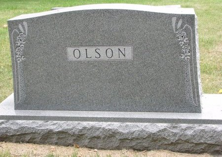 OLSON, *FAMILY MONUMENT - Turner County, South Dakota | *FAMILY MONUMENT OLSON - South Dakota Gravestone Photos