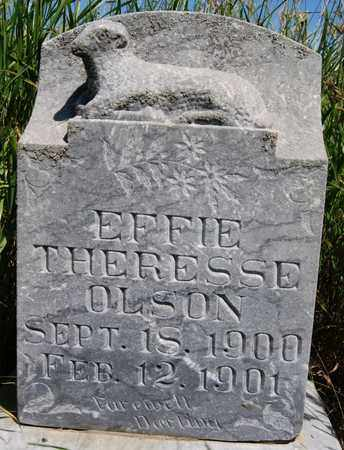 OLSON, EFFIE THERESSE - Turner County, South Dakota | EFFIE THERESSE OLSON - South Dakota Gravestone Photos
