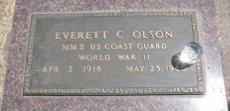 OLSON, EVERETT C. - Turner County, South Dakota | EVERETT C. OLSON - South Dakota Gravestone Photos