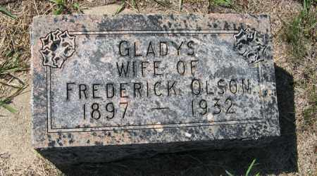 OLSON, GLADYS - Turner County, South Dakota | GLADYS OLSON - South Dakota Gravestone Photos