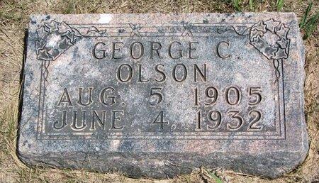 OLSON, GEORGE C. - Turner County, South Dakota | GEORGE C. OLSON - South Dakota Gravestone Photos