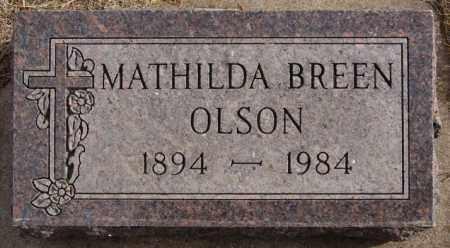 OLSON, MATHILDA - Turner County, South Dakota | MATHILDA OLSON - South Dakota Gravestone Photos