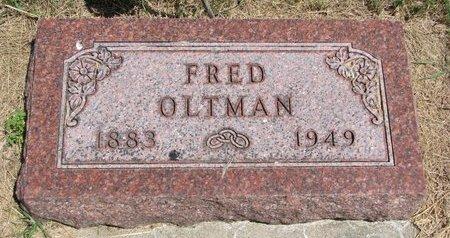 OLTMAN, FRED - Turner County, South Dakota | FRED OLTMAN - South Dakota Gravestone Photos